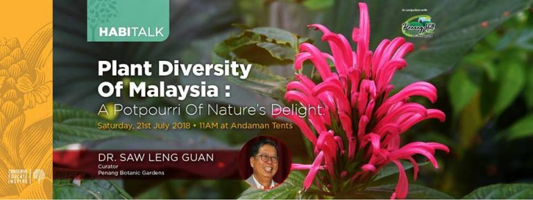 Habitalk: Plant Diversity of Malaysia – a potpourri of nature's delight
