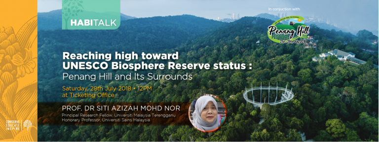 Habitalk: Reaching High toward Unesco Biosphere Reserve Status