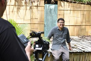THF begins video shoot for Environmental Literacy Course
