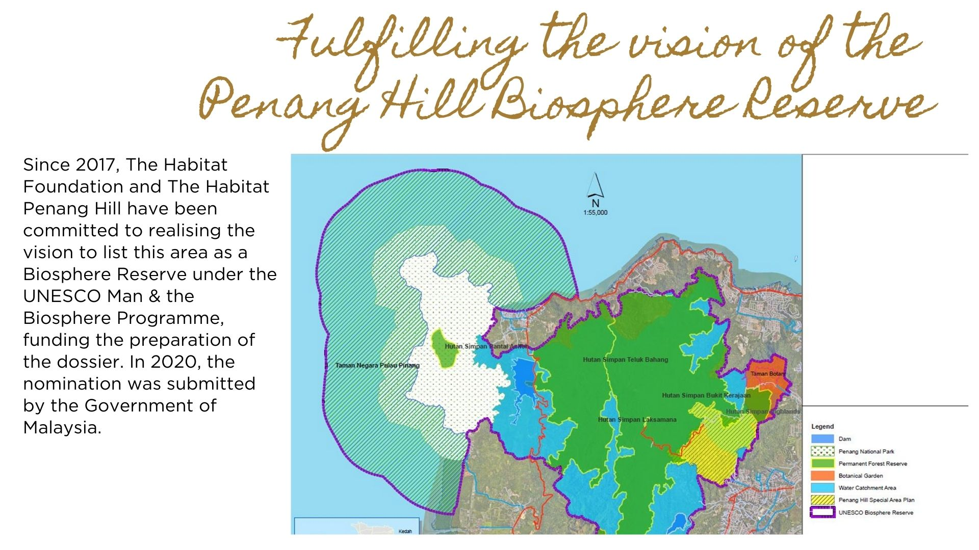 Advancing research in the proposed Penang Hill Biosphere Reserve